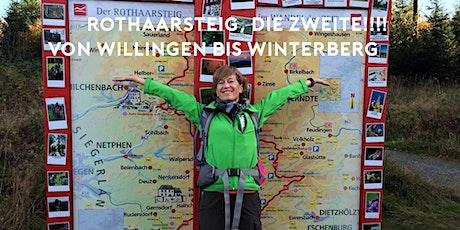 Wandertag für Fortgeschrittene auf dem Rothaarsteig TEIL  II (23,5km) Tickets