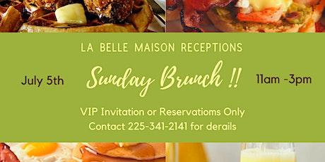 La Belle Maison Opening Brunch tickets