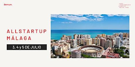 Want to create a startup? #AllStartupMálaga entradas