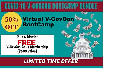 COVID-19 V-GovCon BootCamp Bundle tickets