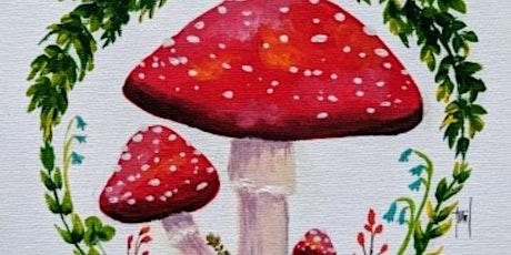 Paint & Sip @ the Studio - Mushroom Magic tickets