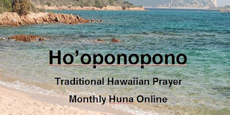 Ho'oponopono Traditional Prayer for Healing and Making Things Right bilhetes