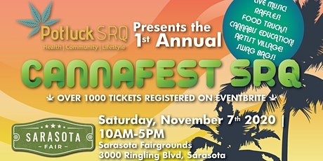 1st Annual CannaFest SRQ tickets