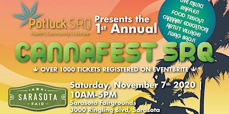 1st Annual CannaFest SRQ 2020 tickets
