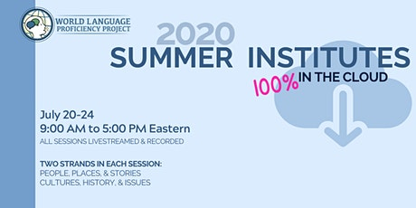 July 20 - 24 Summer Institutes in the Cloud tickets
