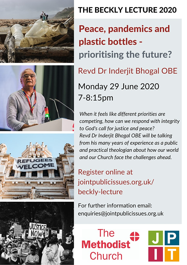 Peace, pandemics and plastic bottles - prioritising the future? image