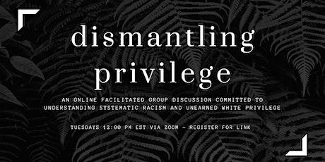 Dismantling Privilege: Understanding Systematic Racism tickets