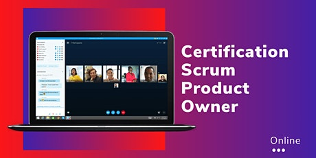 Certification Scrum Product Owner - Online entradas