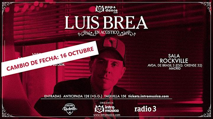 Imagen de LUIS BREA en Pop&Dance Small (Madrid / Sala Rockville)