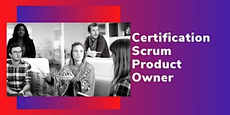 Certification Scrum Product Owner billets