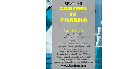CAREERS in PHARMACEUTICAL INDUSTRY Seminar tickets