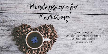 Mondays are for Marketing - Marlborough 8-10-2020 tickets