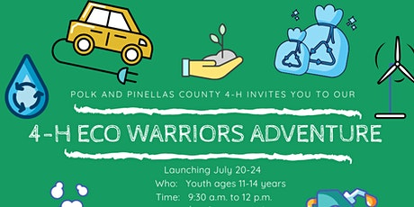4-H ECO Warriors Virtual  Camp tickets
