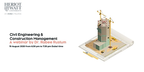 Webinar PG Session: MSc Civil Engineering and Construction Management tickets