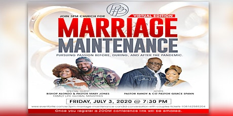 """3PM Marriage Maintenance """"Candid Conversation with Couples"""" tickets"""