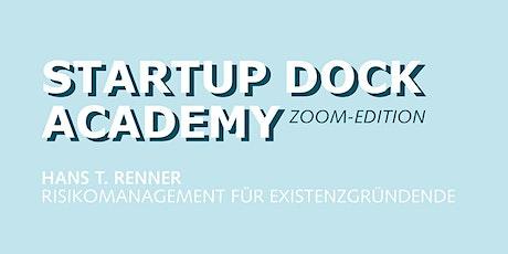 SD Academy (Zoom Edition): Risikomanagement für Existenzgründende Tickets