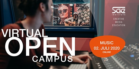 OPEN CAMPUS #Music - AUDIO ENGINEERING & MUSIC BUSINESS Tickets