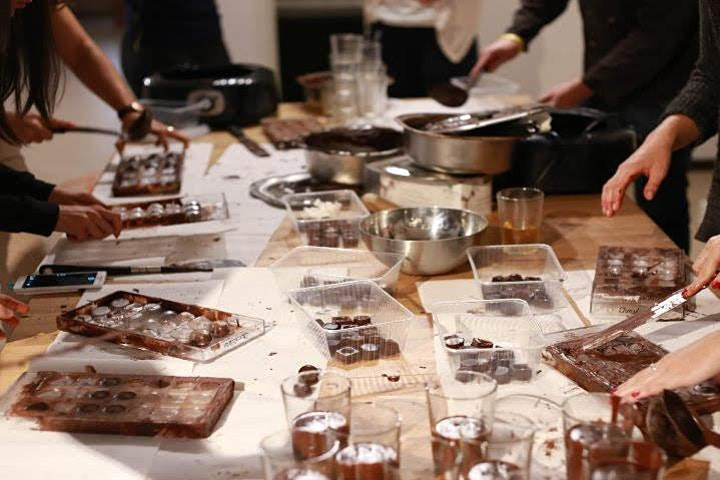 Belgian chocolate workshop in Brussels image