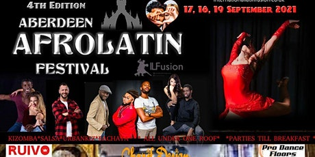 Aberdeen AfroLatin Festival 4th edition 2021 tickets