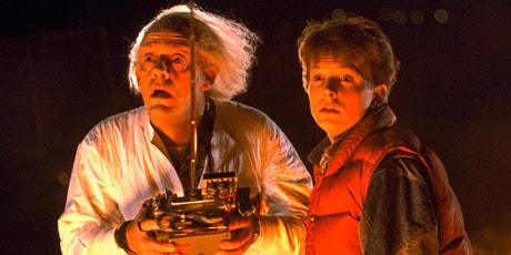 Back To The Future (PG) - Drive-In Cinema at  Newton Abbot Racecourse tickets