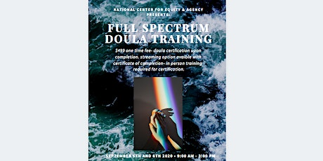 Full Spectrum Doula Training tickets