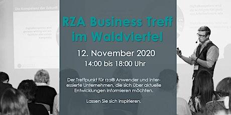 RZA Business Day 2020 - vor Ort Teilnahme in Gmünd Tickets