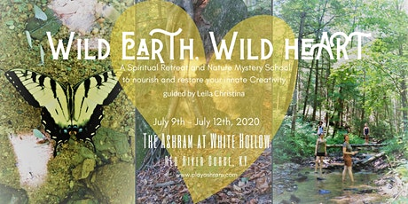 Wild Earth, Wild HeART: connect with nature, nurture your creativity tickets