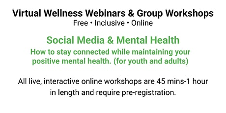 Social Media & Our Mental Health tickets