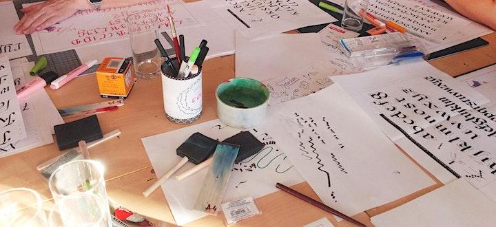 Gothic Calligraphy - schreiben mit Bandzugfeder und mehr - Graz: Bild