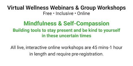 Mindfulness & Self-Compassion tickets