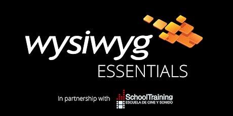 Curso de formación wysiwyg Essentials (Español) entradas