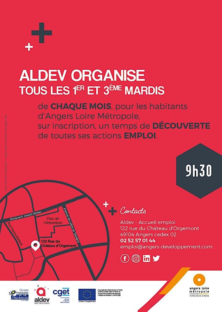 Image pour Réunions d'informations collectives sur les actions emploi d'Aldev