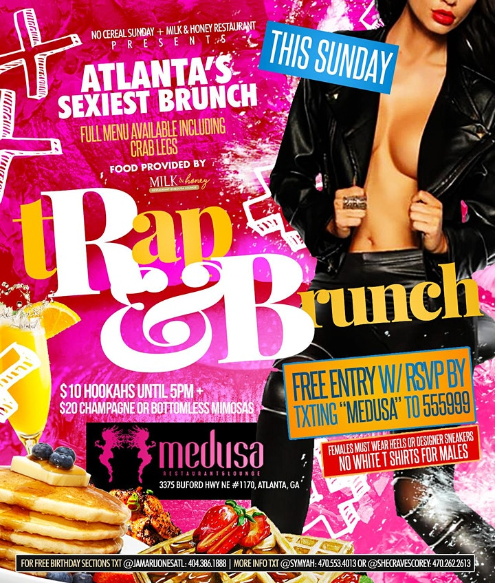 Milk & Honey tRapAndBrunch Day Party image