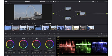 Davinci Resolve Colour Grading Basics tickets