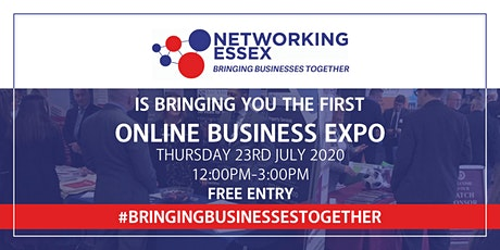 (FREE) Networking Essex online EXPO 23rd July between 12pm-3pm tickets