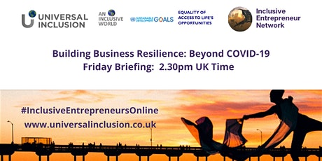 Building Business Resilience: Beyond COVID-19 tickets