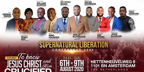SUPERNATURAL LIBERATION CONFERENCE 2020 tickets