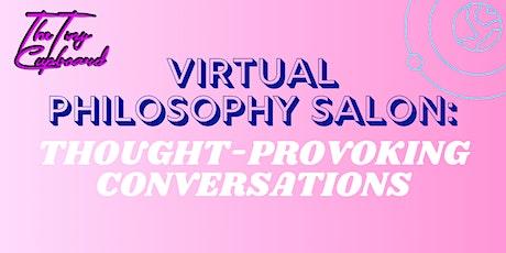 Virtual Philosophy Salon tickets