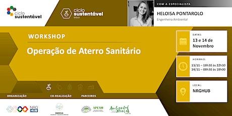 Workshop - Operação de Aterro Sanitário bilhetes