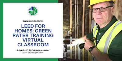 LEED for Homes Virtual Green Rater Credentialing Training –