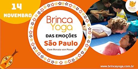 CURSO BrincaYoga das Emoções NOVEMBRO/2020 (SP) ingressos