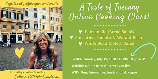 A Taste of Tuscany Italian Online Cooking Class