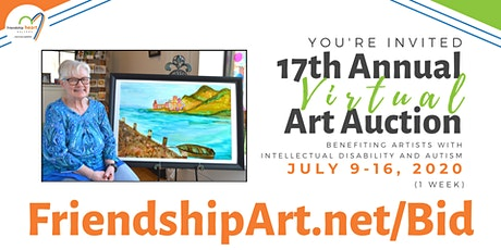 17th Annual Friendship Heart Gallery & Studio Art Auction tickets
