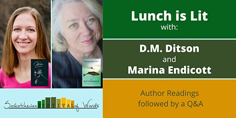 Lunch is Lit with D.M. Ditson and Marina Endicott tickets