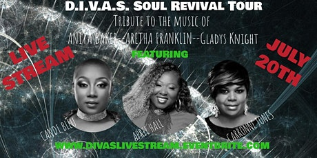 Tribute To The Music Of Aretha Franklin, Anita Baker, Gladys Knight-LIVE STREAM tickets