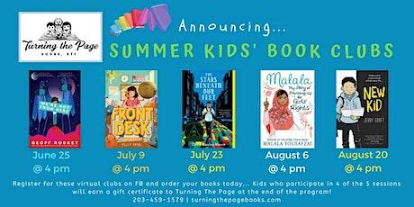 Summer Kids' Book Club #5: New Kid tickets