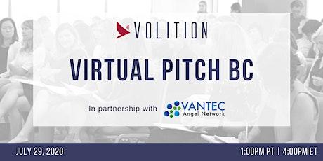 Virtual Pitch BC | July 29 tickets
