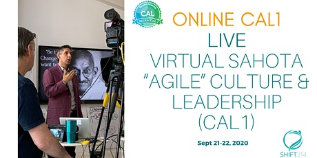 "ONLINE Live Virtual  Sahota ""Agile"" Culture & Leadership (CAL1) tickets"