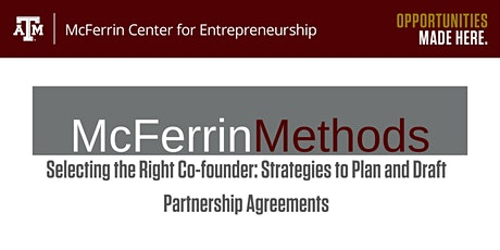 Selecting the Right Co-founder: Strategies to Partnership Agreements tickets