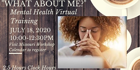"""""""What about Me?"""" Mental Health Training tickets"""